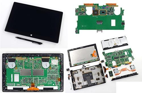 Sửa chữa Surface, máy tính bảng