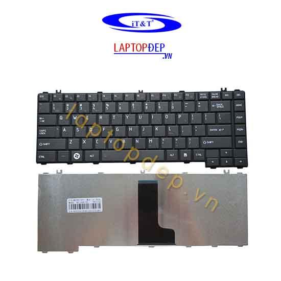 Bàn phím Toshiba L640 C640 đen