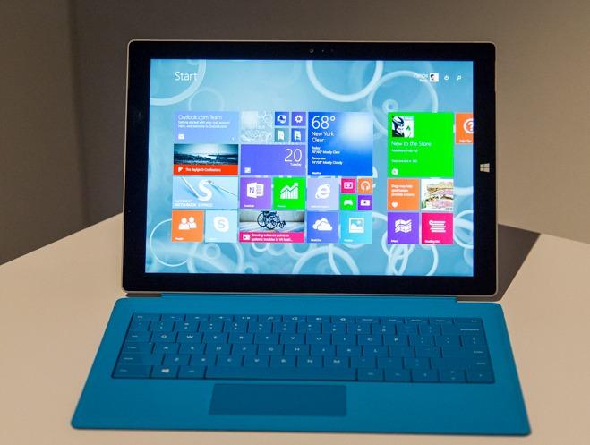 Kích thước Surface Pro 3 và những điều bạn chưa biết?