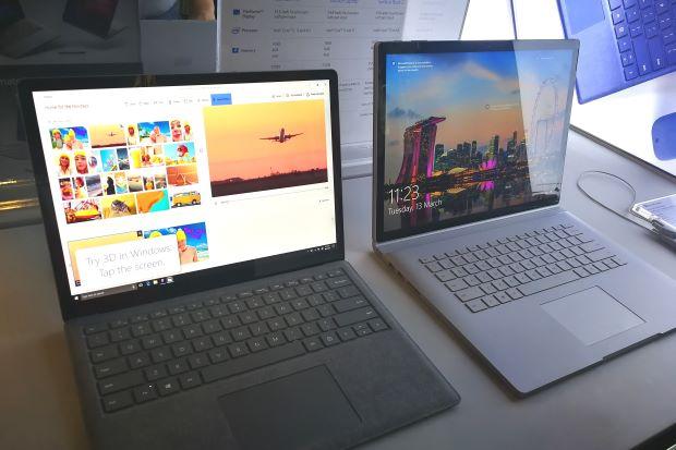 Rò rỉ Surface Book 2 ra mắt phiên bản màu đen không gian
