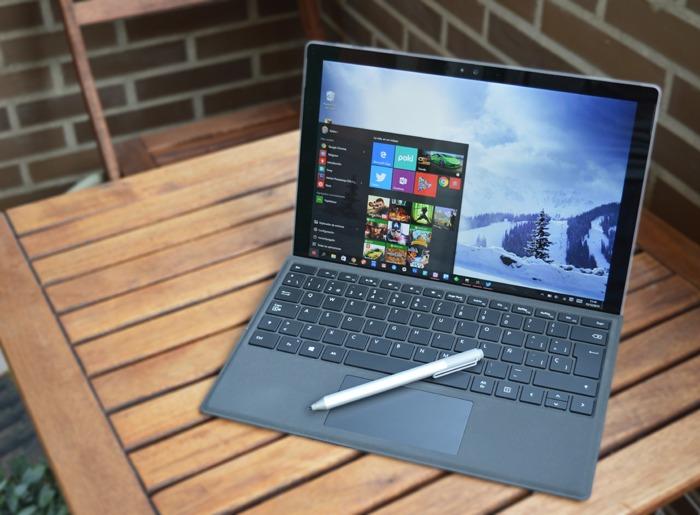 Đánh giá Surface Pro 4 core i7